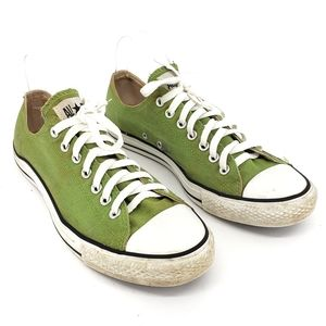 Converse Mens Sneakers Green White 117393F Lace Up